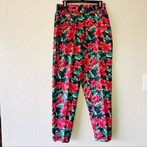 Lilly Pulitzer Floral Butterfly Pants
